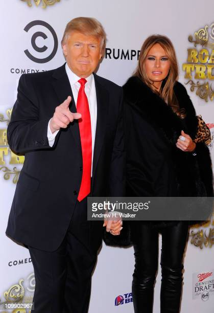 Donald Trump and Melania TrumpTrump attend the Comedy Central Roast Of Donald Trump at the Hammerstein Ballroom on March 9 2011 in New York City