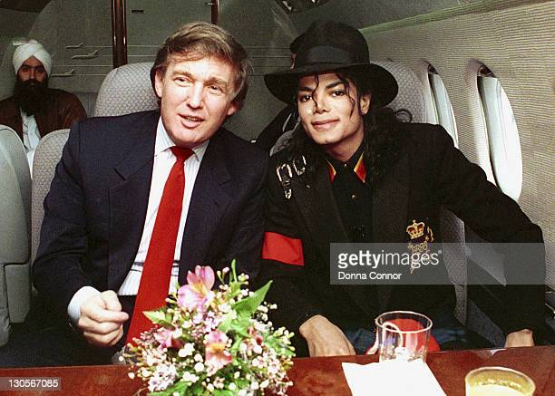 Donald Trump and Michael Jackson *Exclusive*