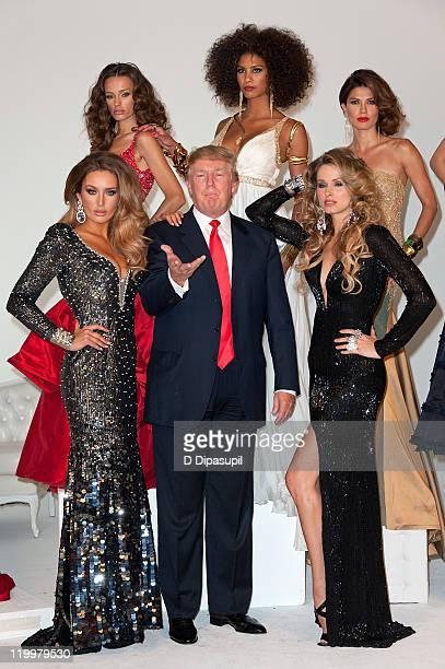 Donald Trump and Miss Ireland 2010 Rosanna Purcell Miss Kosovo 2008 Zana Krasniqi Miss France 2009 Chloe Mortaud Miss Universe 2002 Justine Pasek and...