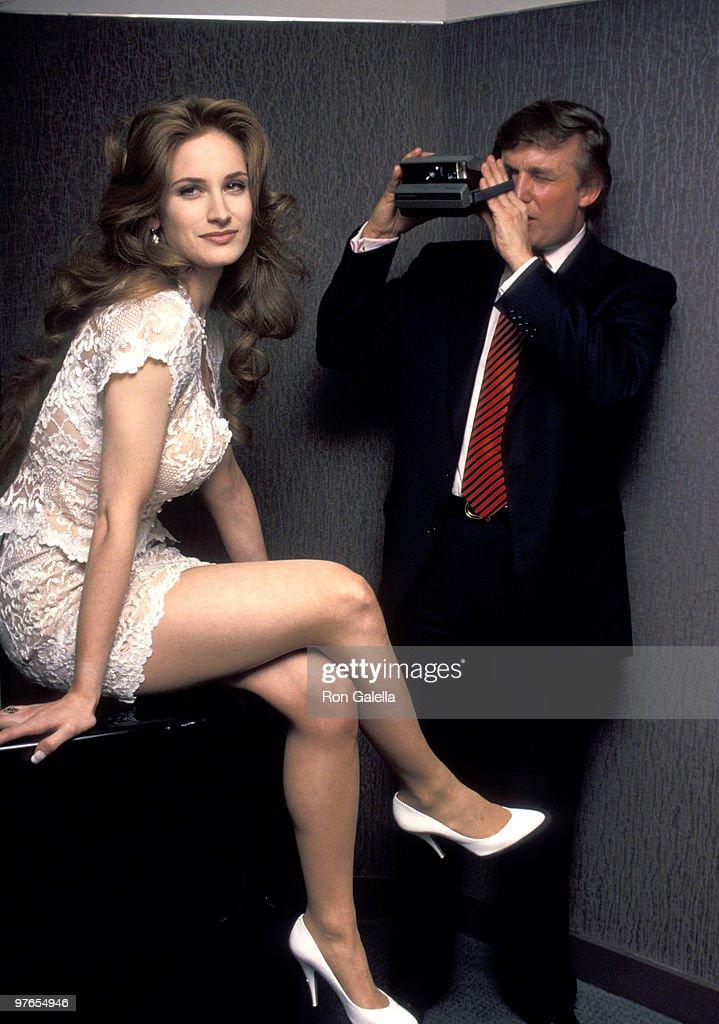 Donald Trump and Playmate Bridget