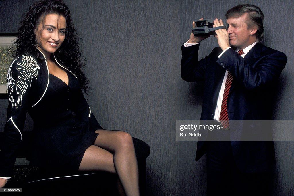 Donald Trump and Playmate Lisa