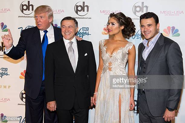 Donald Trump Aras Agalarov Miss Universe 2012 Olivia Culpo and Musician Emin arrive at the 2013 Miss USA pageant at Planet Hollywood Resort Casino on...