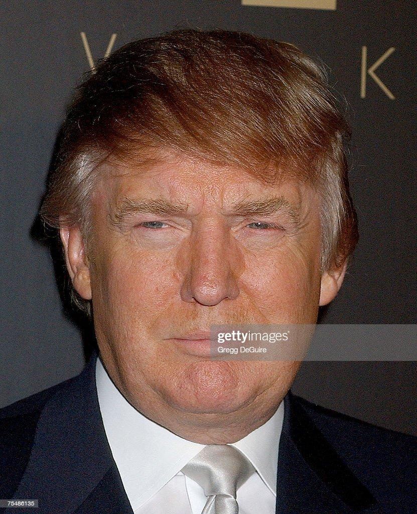Donald Trump at the Les Deux in Hollywood, California