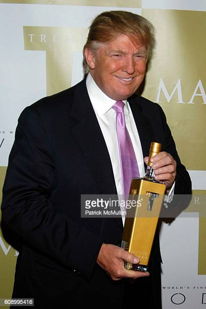 Donald Trump attends Donald Trump and Trump Super Premium Vodka Toast Maxim Magazine's June Issue at Club Home on May 23 2007 in New York City