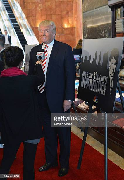 Donald Trump attends the 'AllStar Celebrity Apprentice' Red Carpet Event at Trump Tower on April 16 2013 in New York City