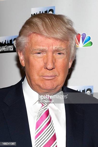 Donald Trump attends 'The Celebrity Apprentice AllStars' Red Carpet at Trump Tower on May 7 2013 in New York City