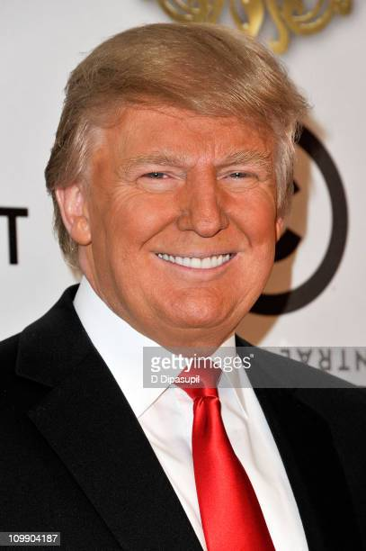 Donald Trump attends the COMEDY CENTRAL Roast of Donald Trump at the Hammerstein Ballroom on March 9 2011 in New York City