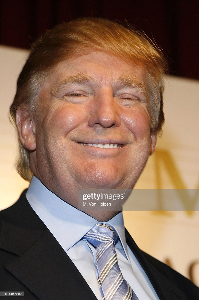 Donald Trump during Donald J. Trump Announces the Launch of Trump Mortgage, LLC at Trump Tower in Manhattan, New York, United States.