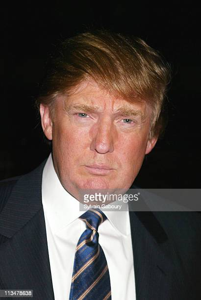 Donald Trump during Operation Smile's 'Smile Collection' a 2004 Couture Event at Whitney Museum in New York New York United States