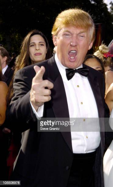 Donald Trump during The 56th Annual Primetime Emmy Awards Arrivals at The Shrine Auditorium in Los Angeles California United States