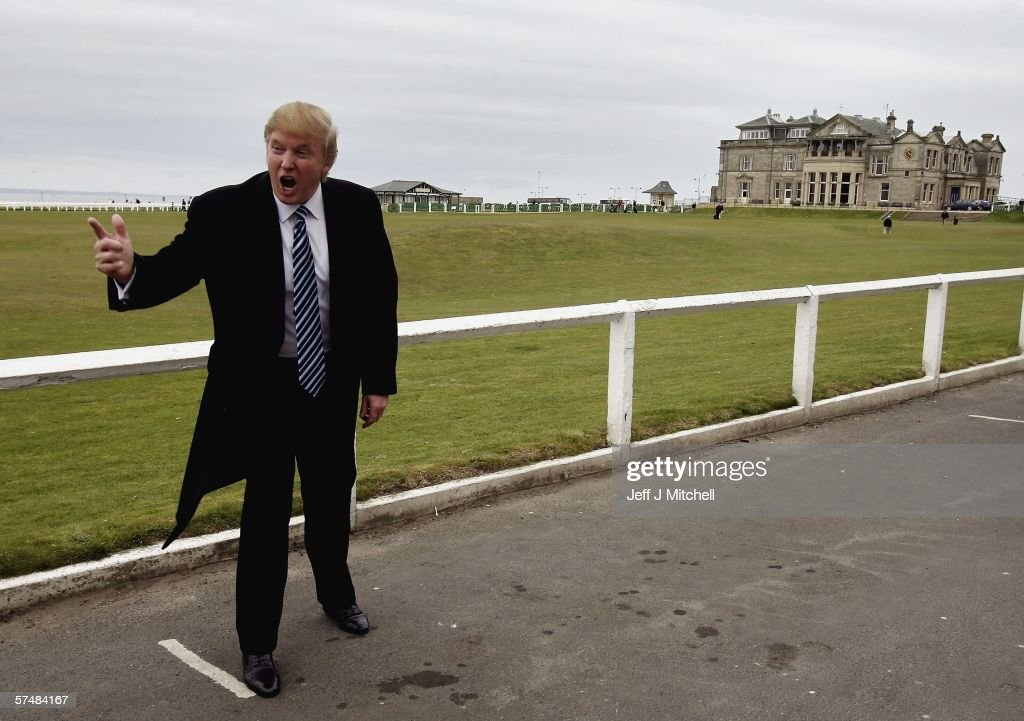 Donald Trump Announces Scottish Golf course Plans : News Photo