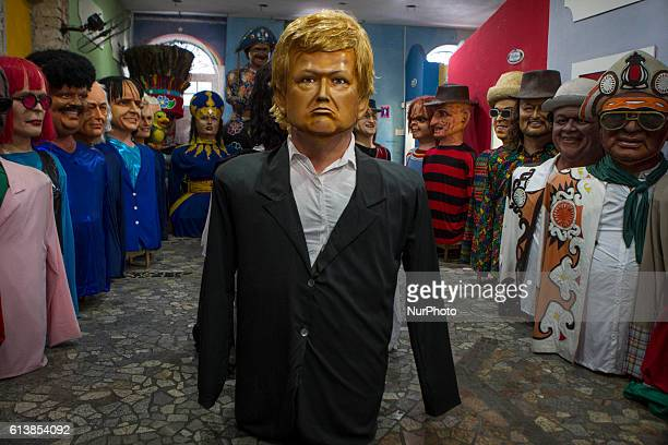 Donald Trump Giant doll on show with other dolls The dolls that are made remain on show in the city of Recife until the carnival when often parade...