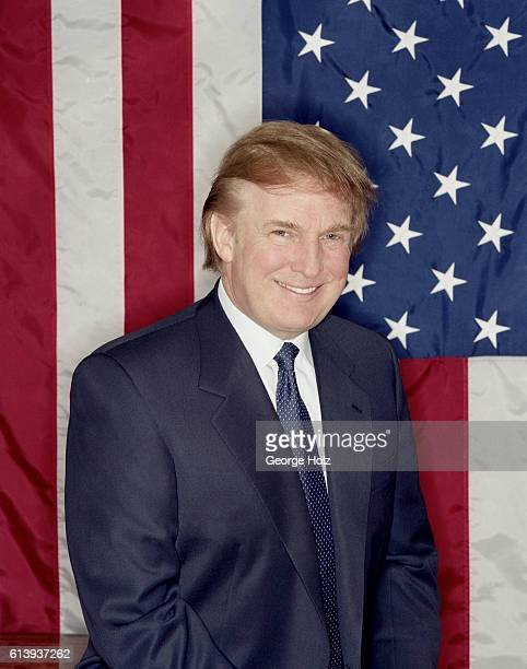 Donald Trump is photographed for New York Magazine on December 1 1999 in New York City