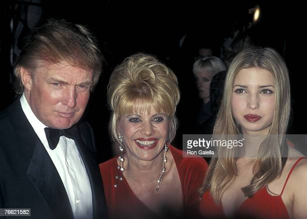 Donald Trump Ivana Trump and Ivanka Trump