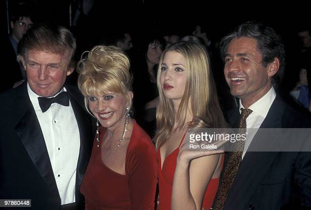 Donald Trump, Ivana Trump, Ivanka Trump, and Roffredo Gaetani