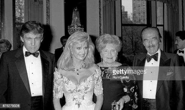 Donald Trump Ivana Trump Mary Anne Trump and Fred Trump attend 17th Police Athletic League Annual Superstar Dinner Honoring Donald Trump on May 12...