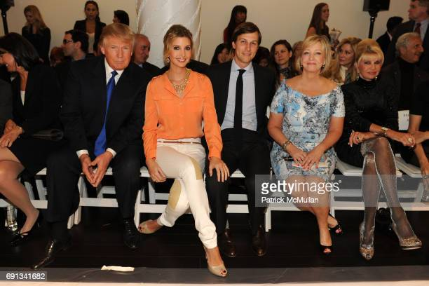 Donald Trump Ivanka Trump Jared Kushner Bonnie Brooks and Ivana Trump attend LORD TAYLOR Launches IVANKA TRUMP's Spring 2012 Collection at Lord...