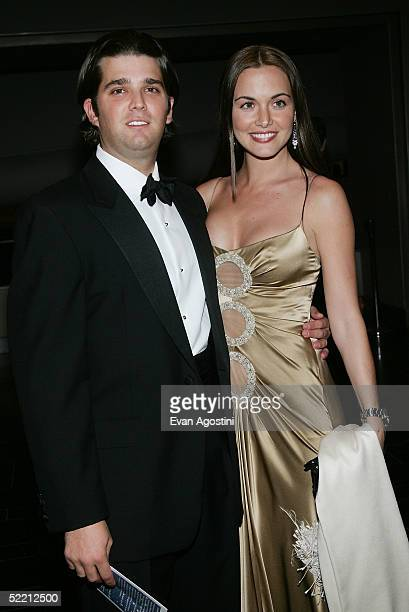 Donald Trump Jr and fiance Vanessa Haydon attend The Musuem of Natural History's Winter Dance Benefit 'Celebrating Heavenly Bodies of the Universe'...