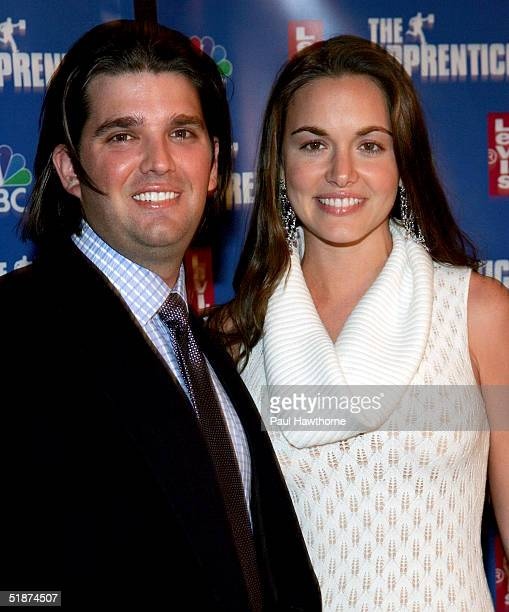 Donald Trump Jr and his fiance Vanessa Haydon attend the after party for the final episode of The Apprentice 2 at the Roseland Ballroom December 16...