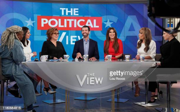 THE VIEW Donald Trump Jr and Kimberly Guilfoyle appeared today Thursday November 7 2019 on ABC's The View as the show celebrated its 5000th episode...