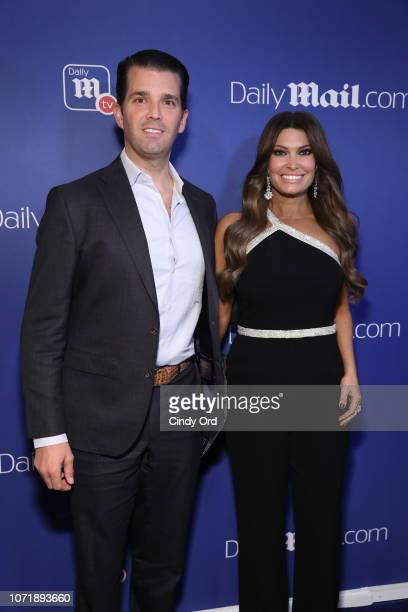 Donald Trump Jr and Kimberly Guilfoyle attend the DailyMailcom and DailyMailTV Holiday Party at Gramercy Terrace at The Gramercy Park Hotel on...