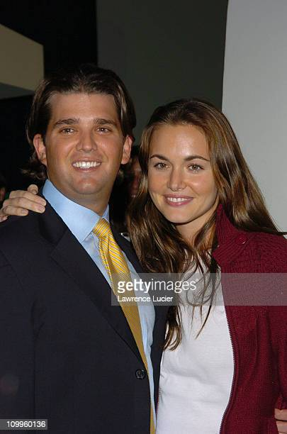 Donald Trump Jr and Vanessa Haydon during The Apprentice II Fashion Episode Viewing Party Sponsored by GENART at Pressure in New York City New York...