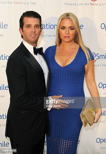 Donald Trump Jr and Vanessa Trump attends the Operation Smile 10th Anniversary Event on May 3 2012 in New York United States