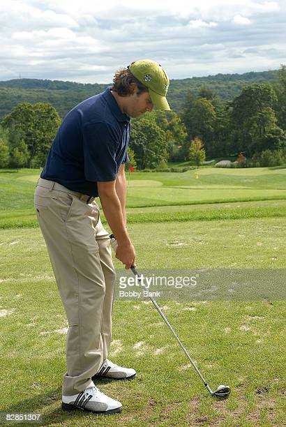 Donald Trump Jr attends the 2008 Eric Trump Foundation Golf Outing at the Trump National Golf Club on September 16 2008 in Westchester New York