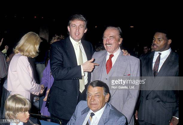 Donald Trump Jr Donald Trump Fred Trump and Herschel Walker