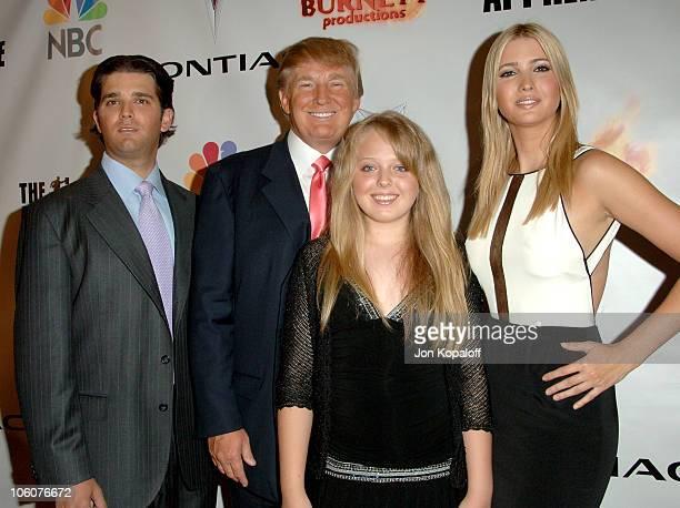 Donald Trump Jr Donald Trump Tiffany Trump and Ivanka Trump
