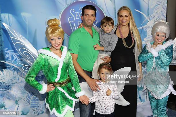 Donald Trump Jr Donnie Trump Vanessa Trump and Kai Trump at AMC Loews Lincoln Square 13 theater on October 20 2012 in New York City