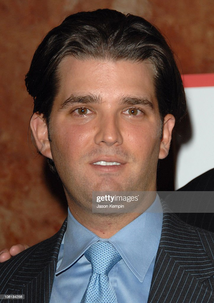 Donald Trump Jr. during Salvation Army Fundraising Kickoff with Trump Family - November 20, 2006 at Trump Tower in New York City, New York, United States.