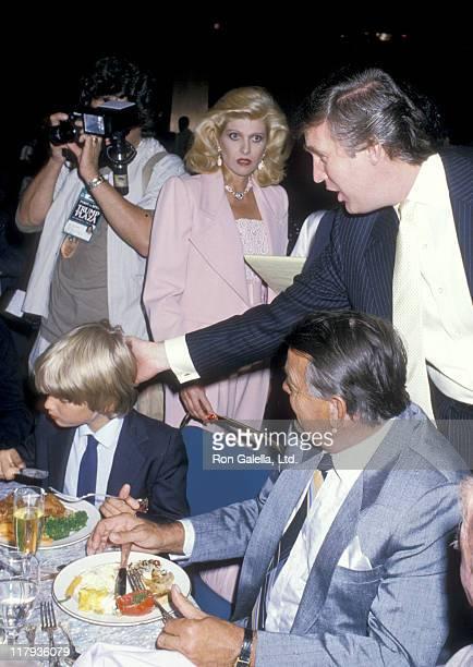 Donald Trump Jr Ivana Trump Donald Trump and Ivana's father