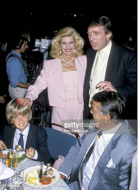 Donald Trump Jr Ivana Trump Donald Trump and Ivana's father