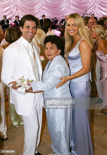 RATES Donald Trump Jr Maria Zelnickoba and Vanessa Trump during the wedding reception of Ivana Trump and Rossano Rubicondi at the MaraLago Club on...