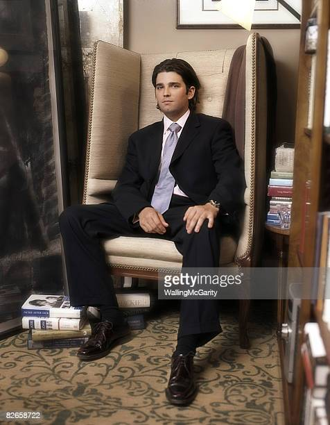 Donald Trump Jr son of real estate mogul Donald Trump is photographed for Avenue Magazine