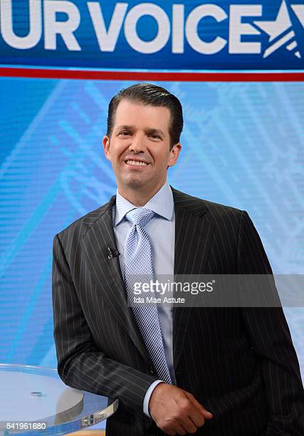 AMERICA Donald Trump Jr talks politics on GOOD MORNING AMERICA 6/21/16 airing on the ABC Television Network DONALD