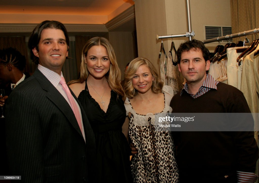 Donald Trump jr, Vanessa Trump, Julie Haus and Husband Jason Alkire