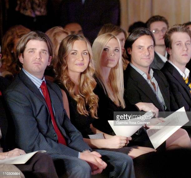 Donald Trump Jr Vanessa Trump Veronica Haydon and Michael Gabriel