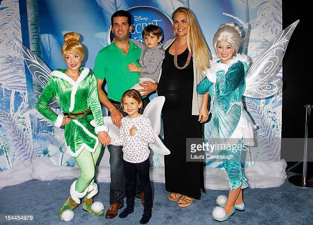 Donald Trump Jr wife Vanessa Trump son Donnie Trump and daughter Kai Trump attend 'Secret Of Wings' premiere at AMC Loews Lincoln Square on October...