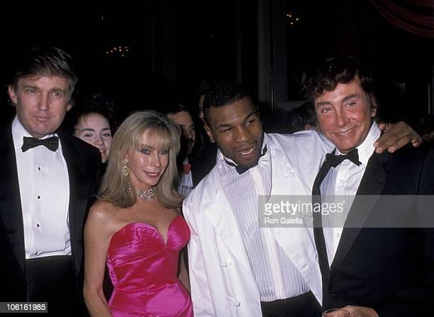 Donald Trump Kathy Keeton Guccione Mike Tyson and Bob Guccione