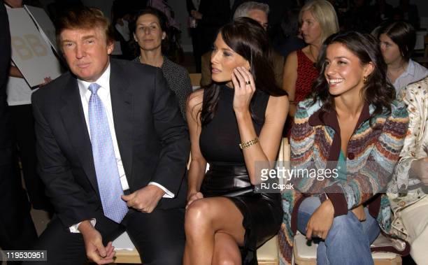 Donald Trump Melania Knauss and Shoshanna Lonstein Gruss