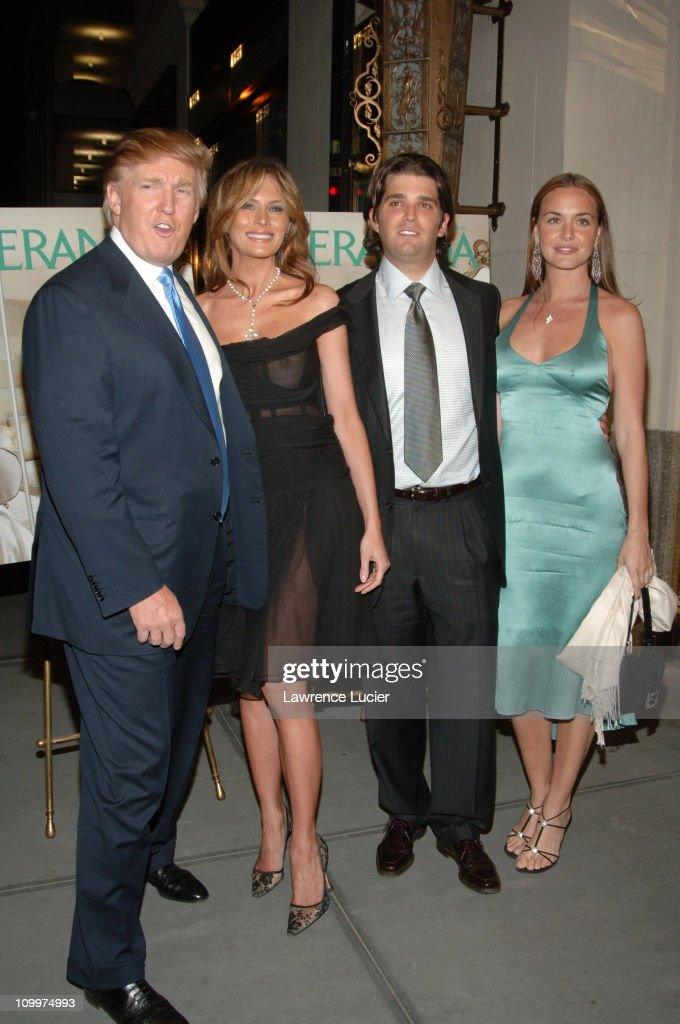 Donald Trump Hosts the Opening Night Reception of Veranda: New York's Best at Trump Park Avenue : News Photo