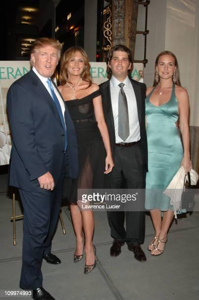 Donald Trump Melania Trump Donald Trump Jr and Vanessa Haydon