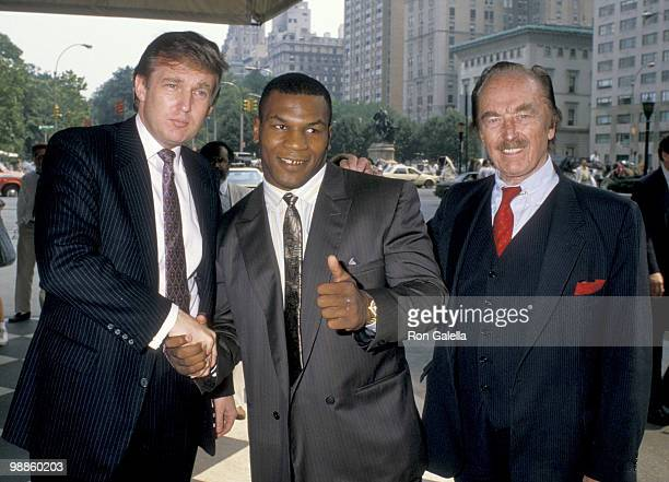 Donald Trump Mike Tyson and Fred Trump