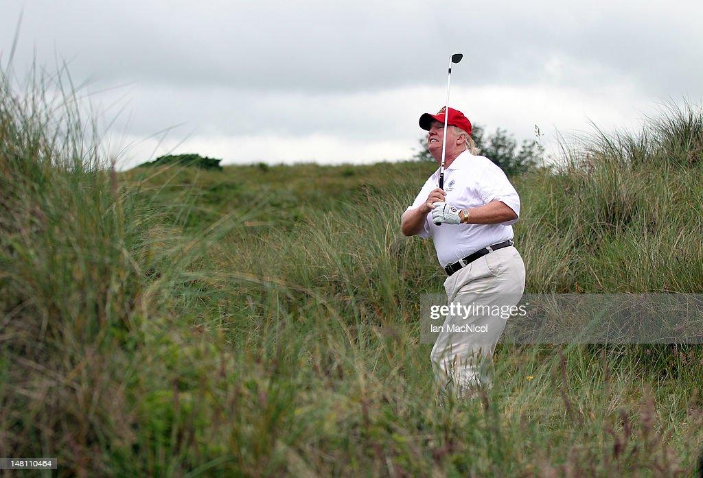 The Trump International Golf Links Course Opens : News Photo