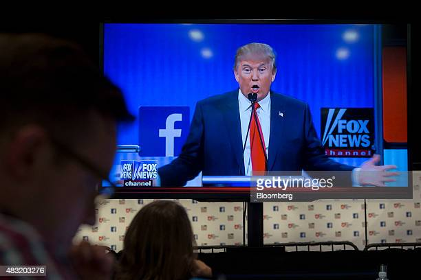 First Gop Primary Debate Hosted By Fox News And Facebook