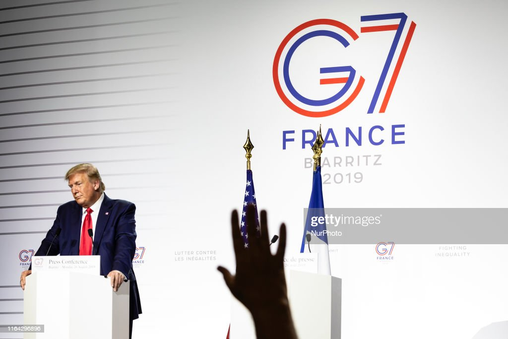 G7 Summit In France - Day Three : News Photo
