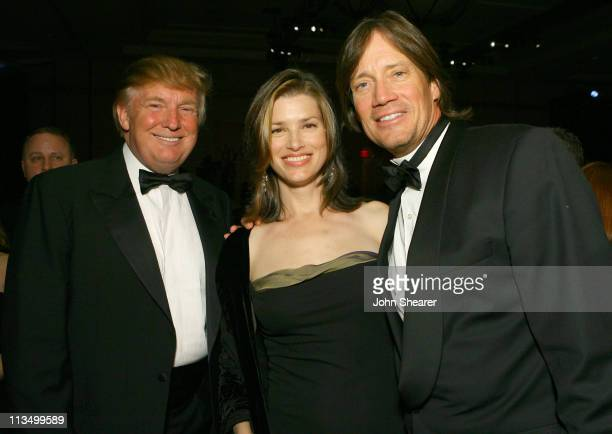 Donald Trump Sam Jenkins and Kevin Sorbo during Muhammad Ali's Celebrity Fight Night XIII Inside at Marriot Desert Ridge Resort Spa in Phoenix...