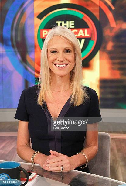 THE VIEW Donald Trump's campaign manager Kellyanne Conway is a guest on 'THE VIEW' 9/29/16 airing on the ABC Television Network CONWAY